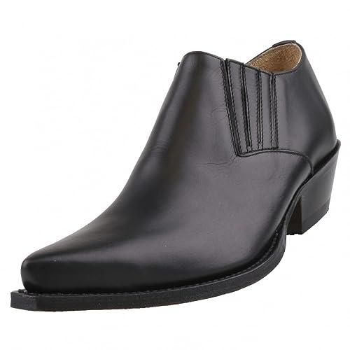 Sendra Boots - Mocasines de Piel para hombre Negro negro: Amazon.es: Zapatos y complementos
