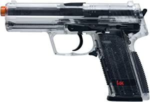 HK USP 6mm Airsoft Spring Pistol Clear