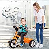 GOUGOU Children tricycle Bicycle Toy baby Stroller Baby Bike 2 years old