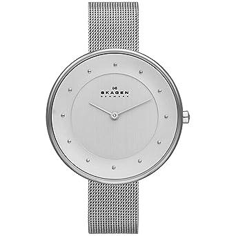 6e0fbacbb06ac Relógio Skagen Feminino Gitte Prata - Skw2140 Z  Amazon.com.br ...