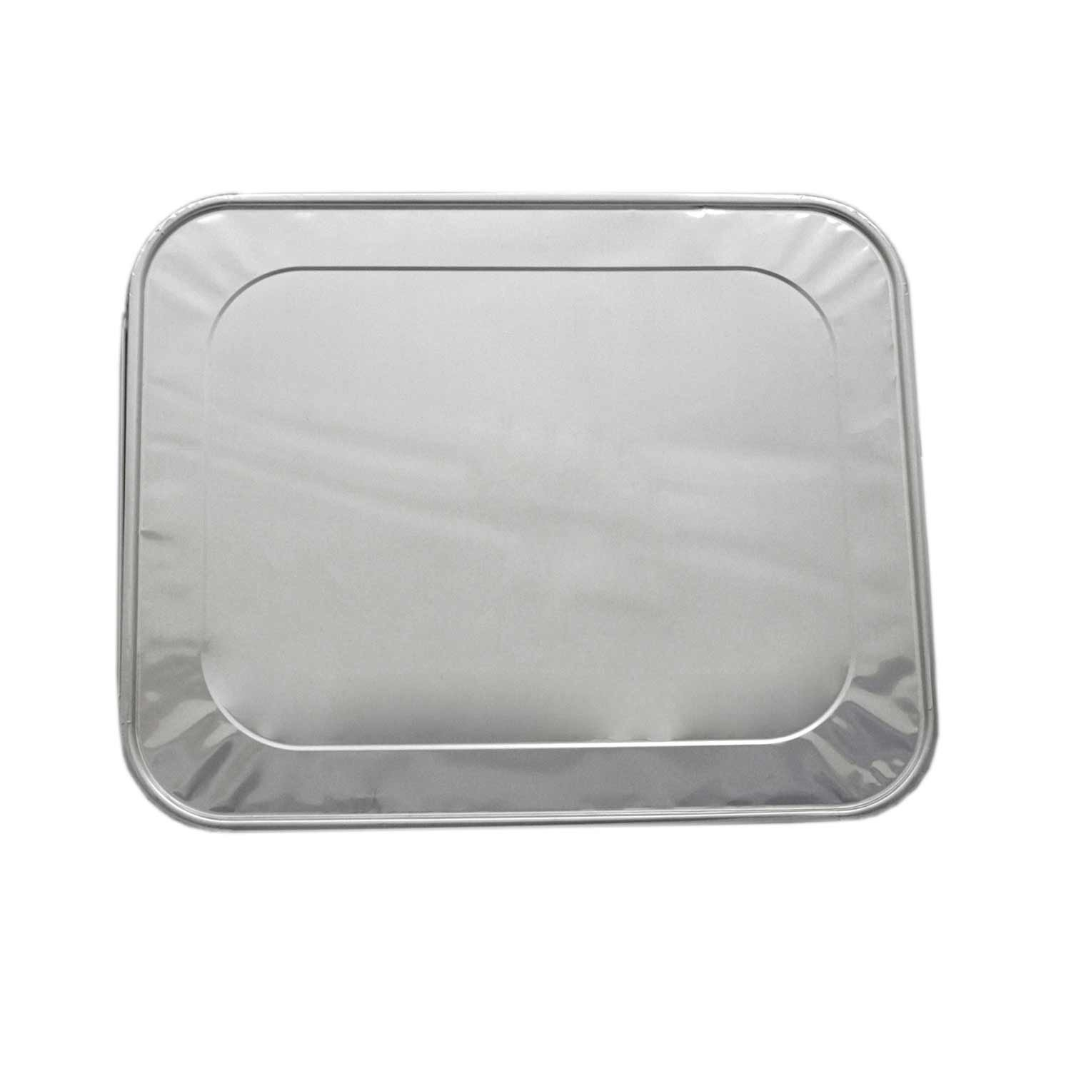 Party Essentials F1050 Half Size Aluminum Foil Lid for Steam Table Pan (Case of 100) by Party Essentials