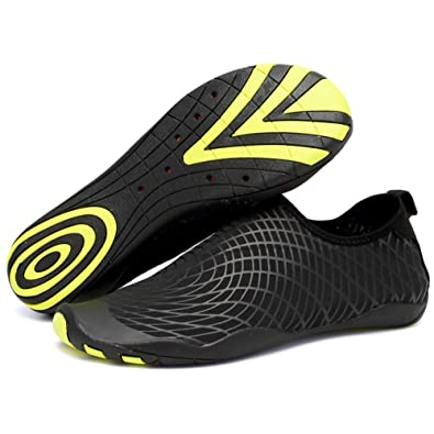 06394eb874ee CIOR Men and Women s Barefoot Quick-Dry Water Sports Aqua Shoes with 14  Drainage Holes for Swim