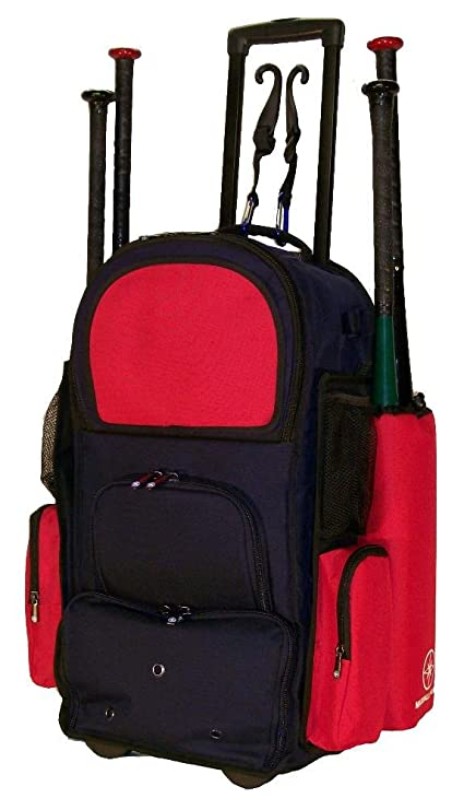 Amazon Com New Design Vista Ctr In Navy Blue And Red Softball