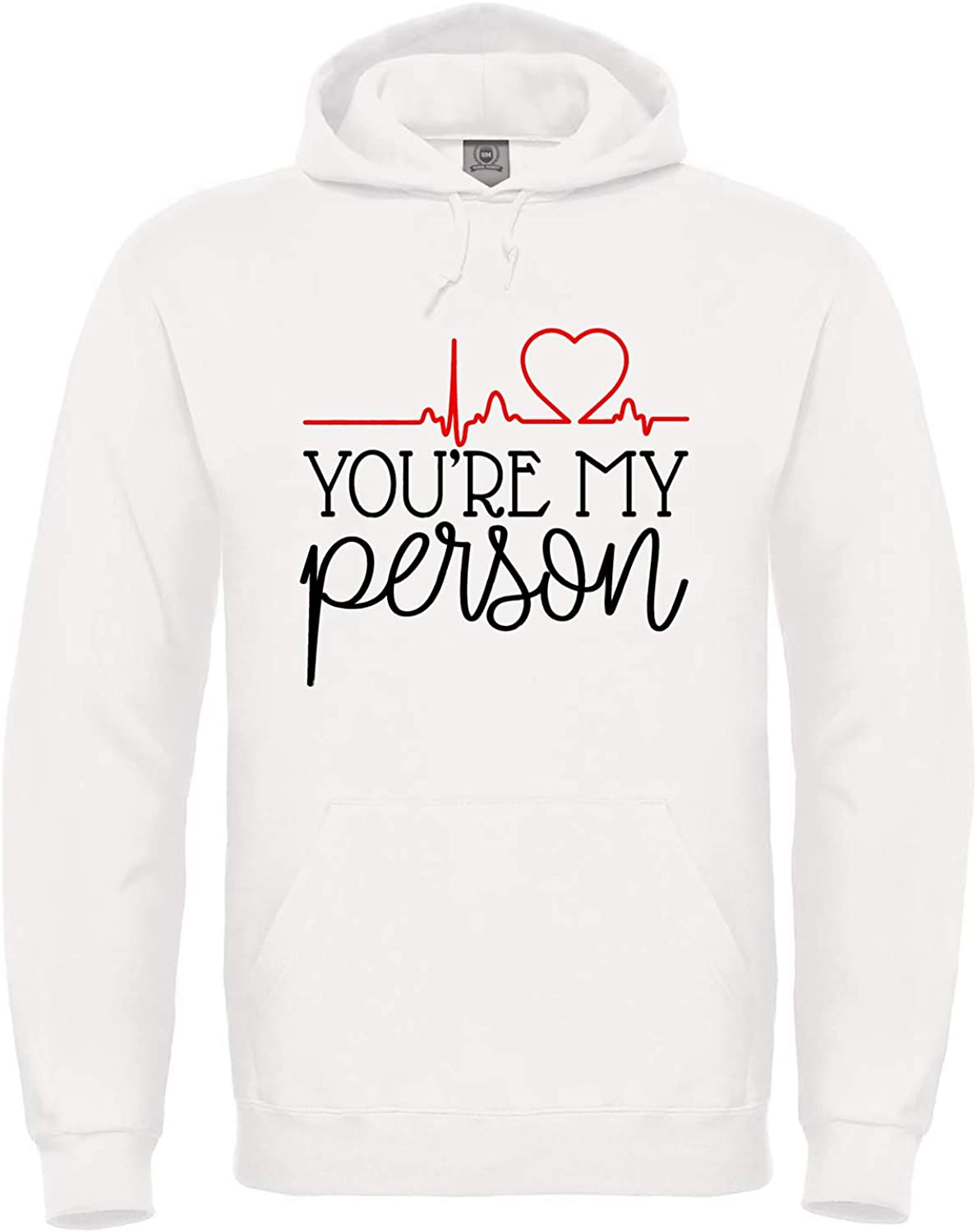 100/% Cotone Alta qualit/à Taglie Adulto e Bambino Youre My Person Donna Greys Anatomy T-Shirt You Are My Person Ver.1 -MOD