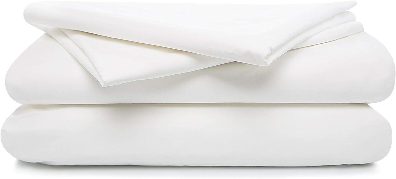 TRIDENT Feather Tales 300TC 100/% Cotton Percale Weave 4 Piece Sheet Set