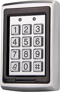 Controlador de Acceso de Puerta Prueba de Agua RFID Control de Código Telclado Numérico