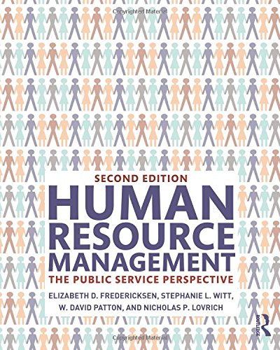 Someone Resource Management: The Public Service Perspective