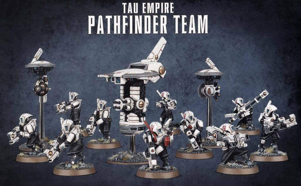 Warhammer 40K Tau Empire Pathfinder Team Rail Rifle L