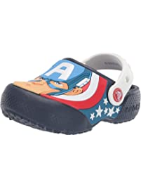 Crocs Boys Boys and Girls Captain America Clog Clog