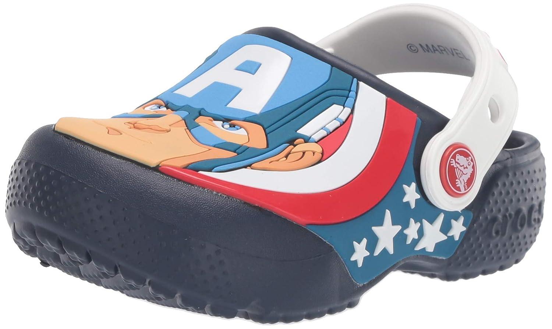 Crocs Kids Boys and Girls Captain America Clog