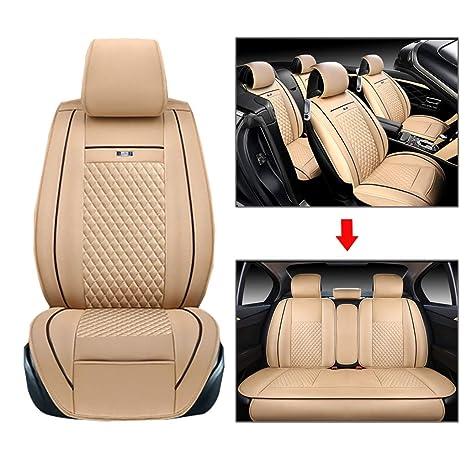 Amazon.com: Funda de piel para asiento de coche Love Life ...