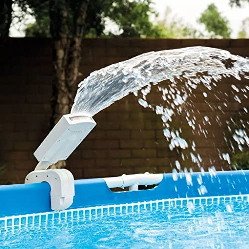 Intex 28089 - Cascada agua vertical con luces led multicolor ...