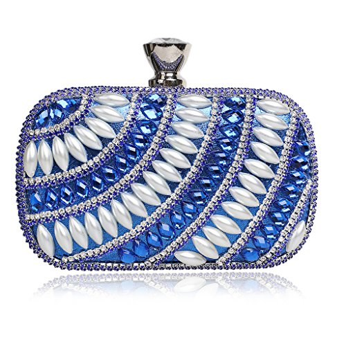 2 Azul Bolso para YHB427 al azul Azul hombro mujer BESTWALED Uqwg8PP