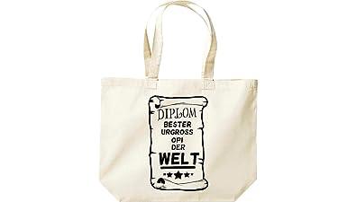 100% authentic fcf0c 85862 grosse Einkaufstasche DIPLOM Beste Tick Tack Oma der Welt ...