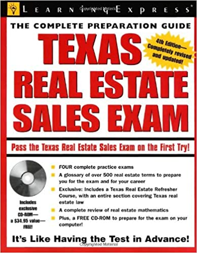 Texas real estate exam texas real estate sales exam texas real estate exam texas real estate sales exam 4th edition fandeluxe Image collections