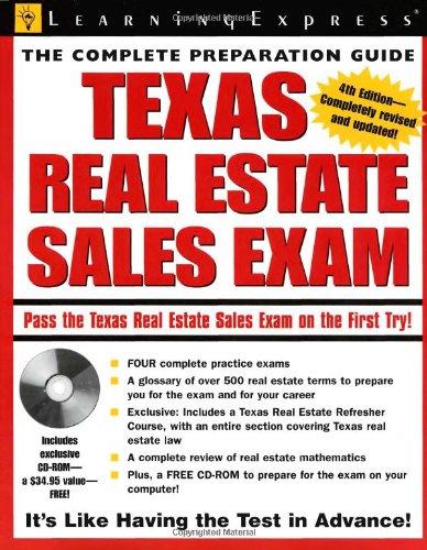 Texas Real Estate Exam (Texas Real Estate Sales Exam) (Best Texas Real Estate Exam Prep)