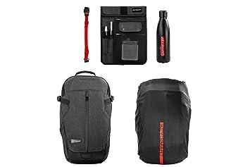 7637886ab13d Amazon.com: KeySmart Urban21 - Premium Commuter Backpack (w/Water ...