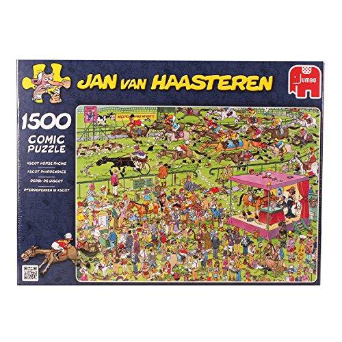 Jumbo Puzzle - Jan van Haasteren - Ascot Horserace (1500 pieces)