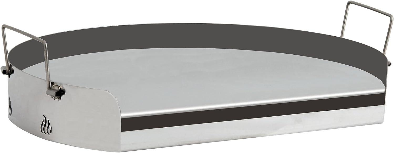 Parrilla universal de acero inoxidable de Bbq-Toro, plancha para barbacoa, redonda, para parrilla de gas, de bola y más