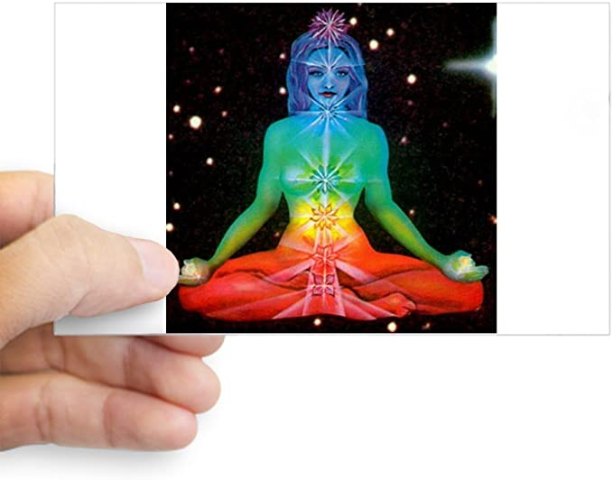 Amazon.com: CafePress – Chakras 3 rectángulo – Rectángulo ...