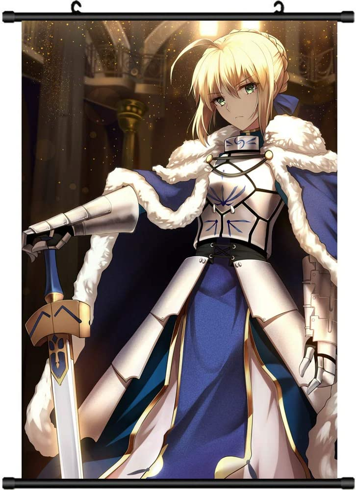 60X90CM Fate Grand Order Anime Wall Scroll Poster Home Decor Collectible Gift