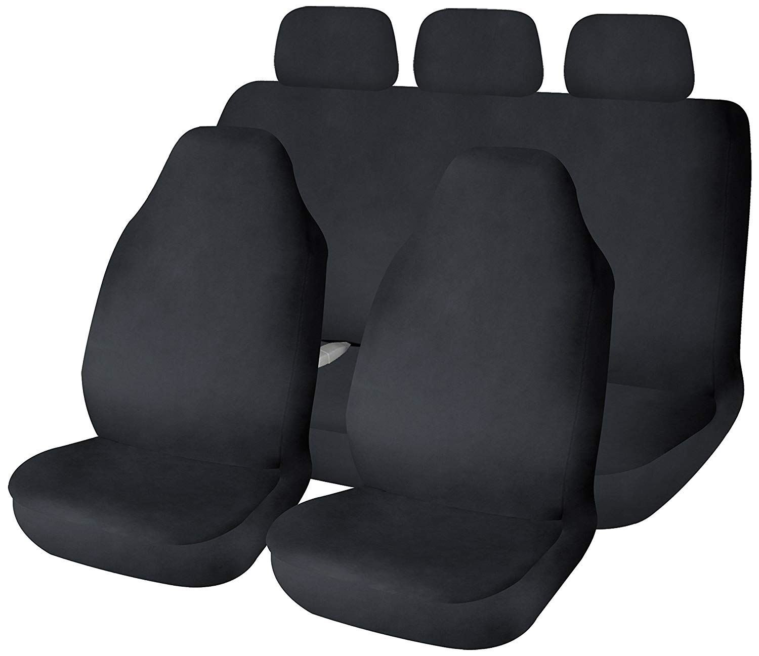 UKB4C Waterproof Black Full Set Front /& Rear Car Seat Covers for C-Max All Years