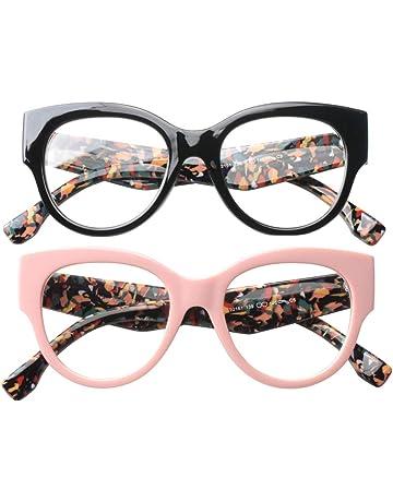 f695bfc5a792 SOOLALA Ladies Modern Fashion Prescription Eyeglass Frame Cat Eye Reading  Glass
