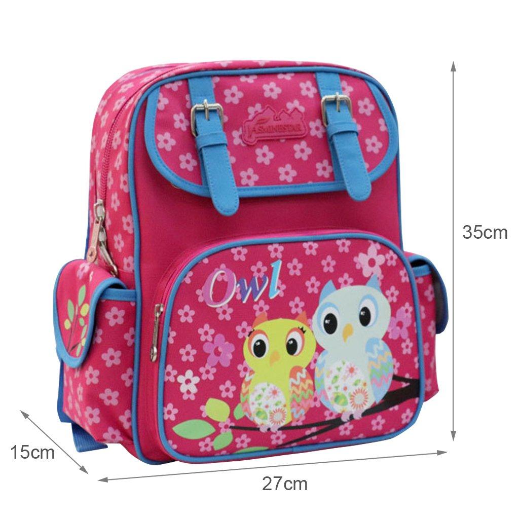 Bolsos de escuela para niñas, mochila para niñas de escuela primaria Mochilas de adolescentes mochilas impermeables para niños, bolsa de hombro ...