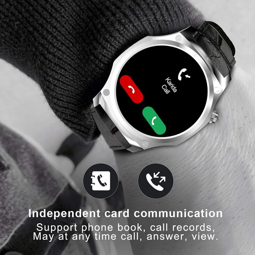 JIHUIA Actividad GPS Rastreador Relojes, Color Toque Pantalla ...
