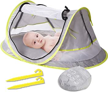 Amazon.com: YSYDE Baby Mosquito Net Bed, Portable Infant ...