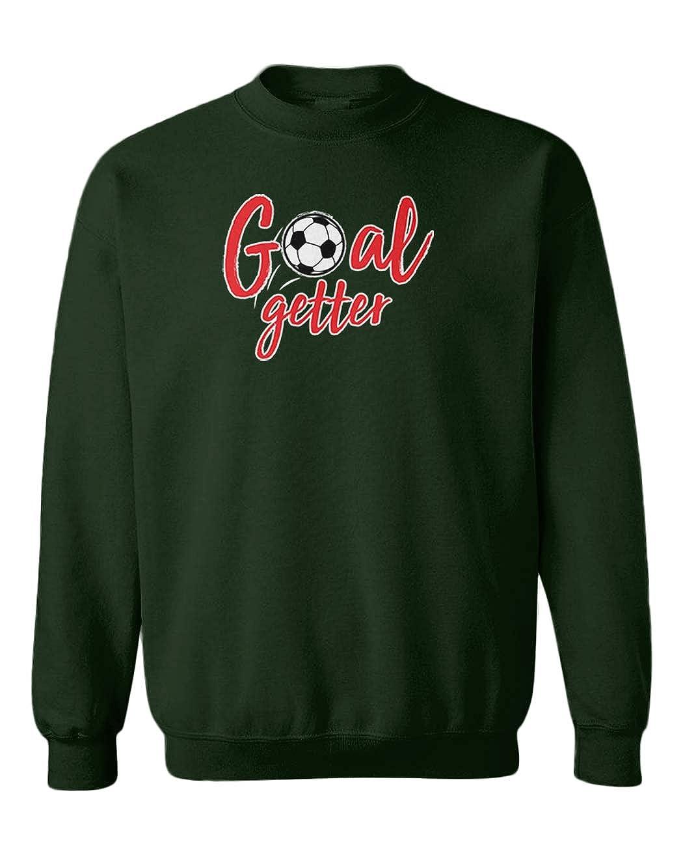 Soccer Player Fan Youth Fleece Crewneck Sweater Tcombo Goal Getter