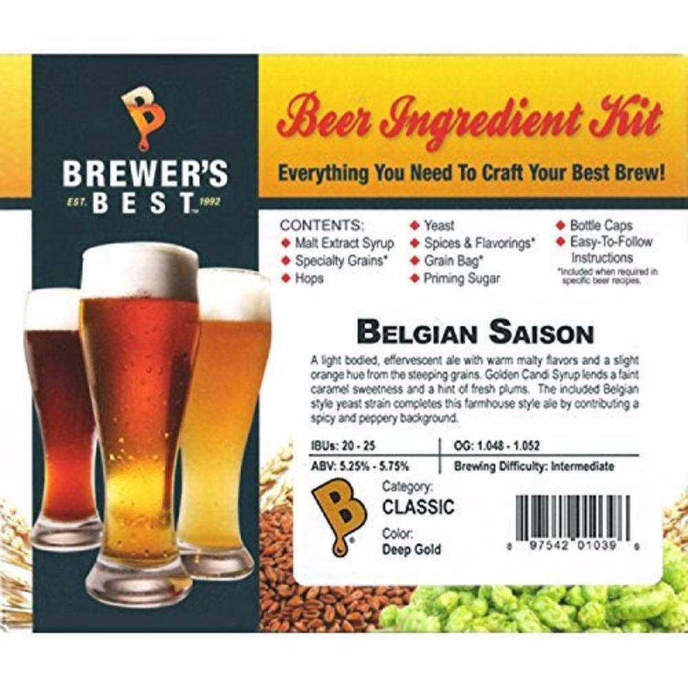 Belgian Saison Beer Ingredient Kit by Brewer's Best (Image #2)
