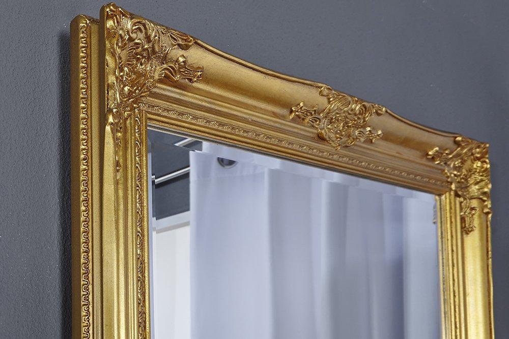 DuNord Design Wandspiegel Standspiegel BAROCCO XL gold 185cm Barock ...