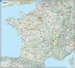 Carte Plastifie Roule France.