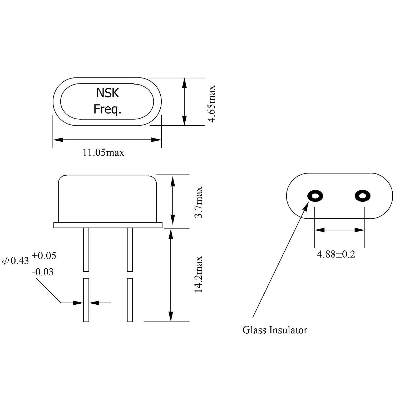 14MHZ 14 MHz Quartz Crystal HC49//S Low Profile