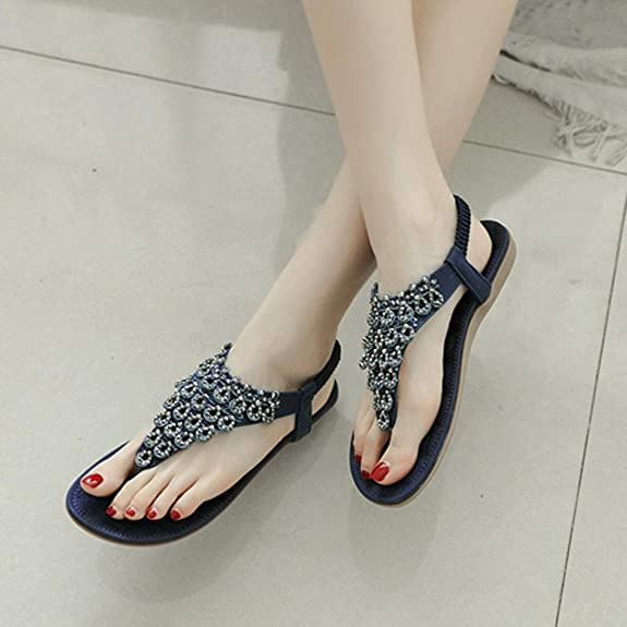 93affc66848c62 Lolittas Summer Beach Glitter Flip Flops for Women Ladies