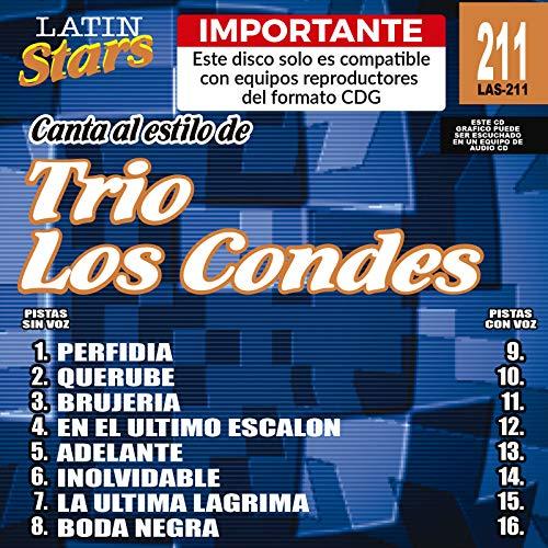 Karaoke: Condes - Latin Stars Karaoke by Trio Los Condes (2008-10-09) ()