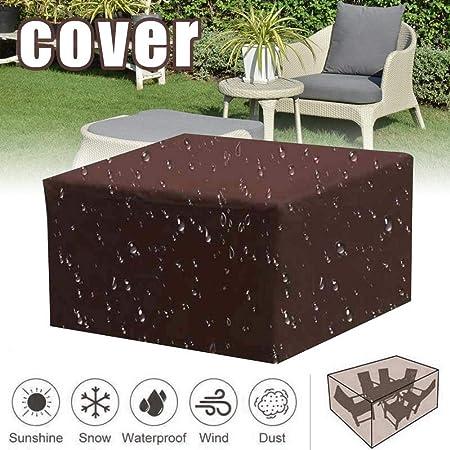 funda impermeable para sillas de jardin
