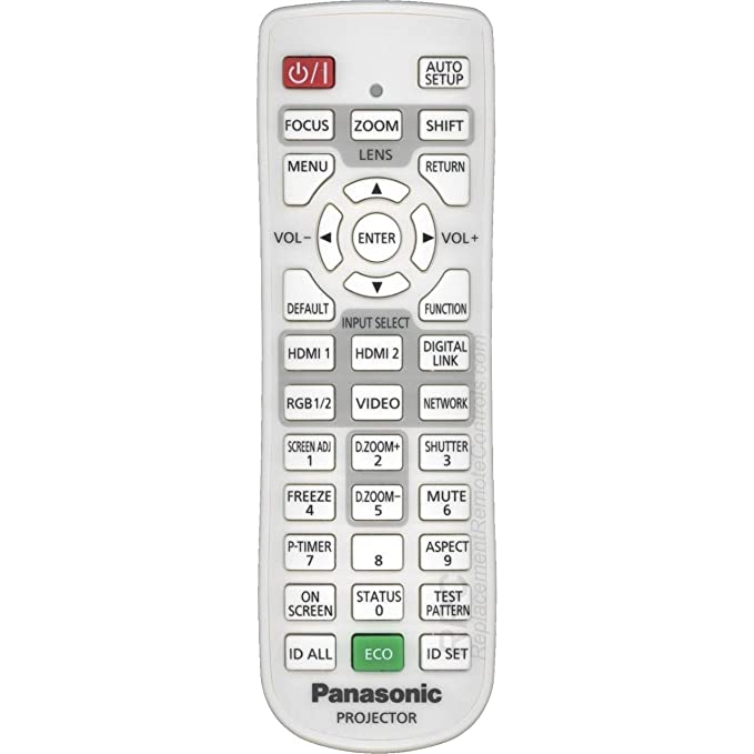 Panasonic OEM N2QAYA000119 - Mando a Distancia para proyector ...