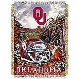 NCAA Oklahoma Sooners 48-Inch-by-60-Inch Acrylic Tapestry Throw