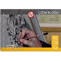 Talens Çizim Ve Resim Bloğu 120 Gr - A34 - 40 Yaprak Spiralli