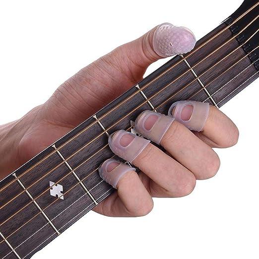 Protector de dedos para guitarra, púa, pulgar, protector de dedos ...