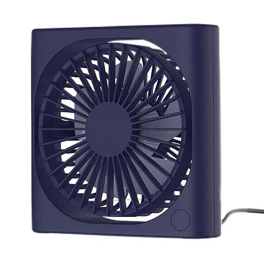 Ventilador de Mesa USB Mini Ventiladores de Escritorio Portátil 3 ...