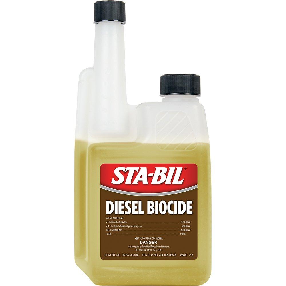 STA-BIL (22283-6PK) Diesel Biocide - 16 oz., (Pack of 6) by STABIL