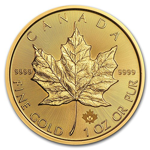 2018 CA Canada 1 oz Gold Maple Leaf $50 Mint State Canada - Royal Canadian Mint