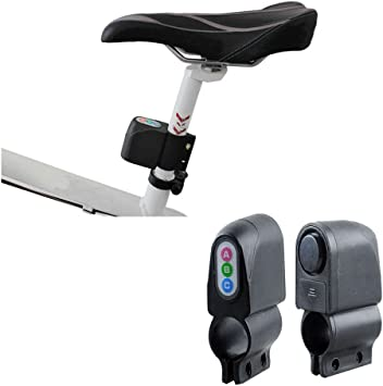 Motorbike Bike Alarm Lock Moped Bicycle Cycling Security Sound Loud Anti-theft