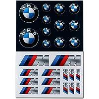 BMW Logo M Performance stickerset, zelfklevende stickers