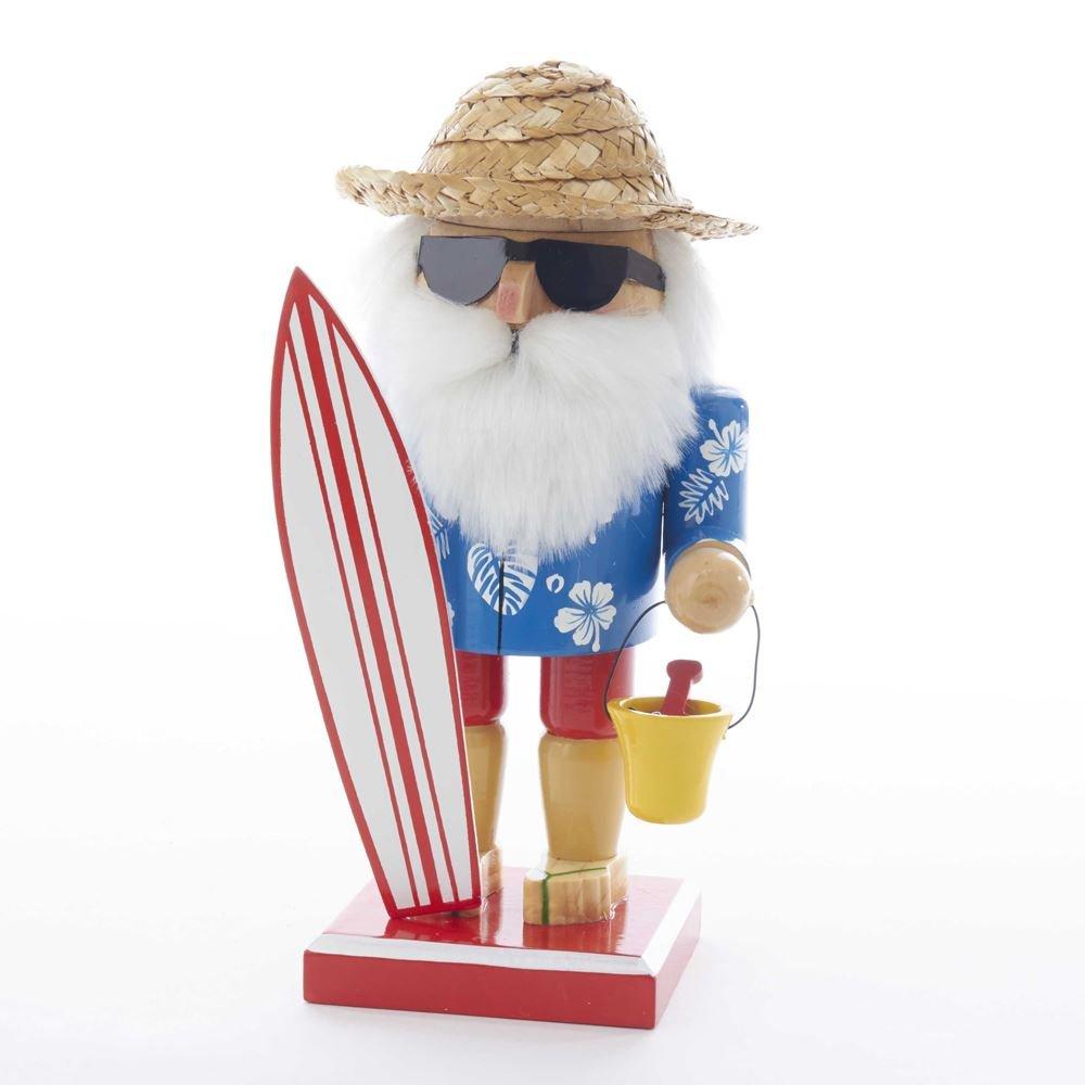 Kurt S. Adler 8'' Surfer Santa Nutcracker