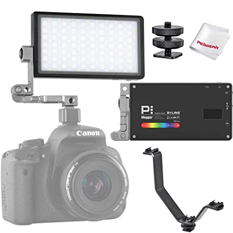 BOLING BL-P1 RGB Luz led de Video, 2500k-8500k Regulable, 9 ...