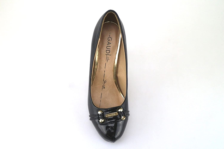 Chaussures Escarpins Noir AJ30 cuir 35 GAUDI' Femme EU 8qpURx0